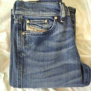 Diesel Model Rame Woman Jean Sz 26